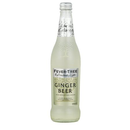 - (8 Bottles) Fever-Tree Light Ginger Beer, 16.9 Fl Oz