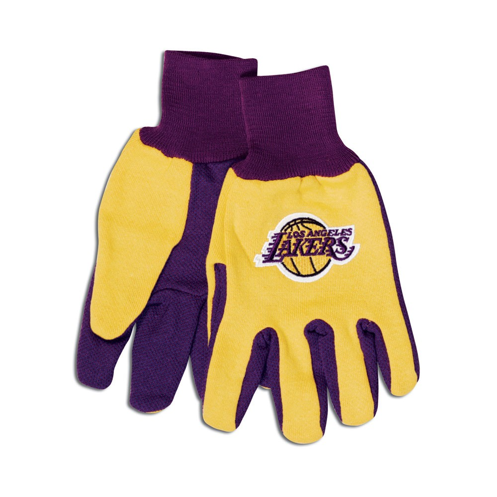 Los Angeles Lakers Two Tone Gloves Adult by Wincraft