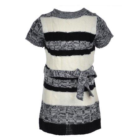 Belted Knit Dress (Star Ride Girls' Belted Knit Dress )