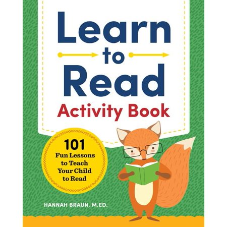 Learn to Read Activity Book: 101 Fun Lessons to Teach Your Child to Read (Paperback) Guided Reading Lesson Plans