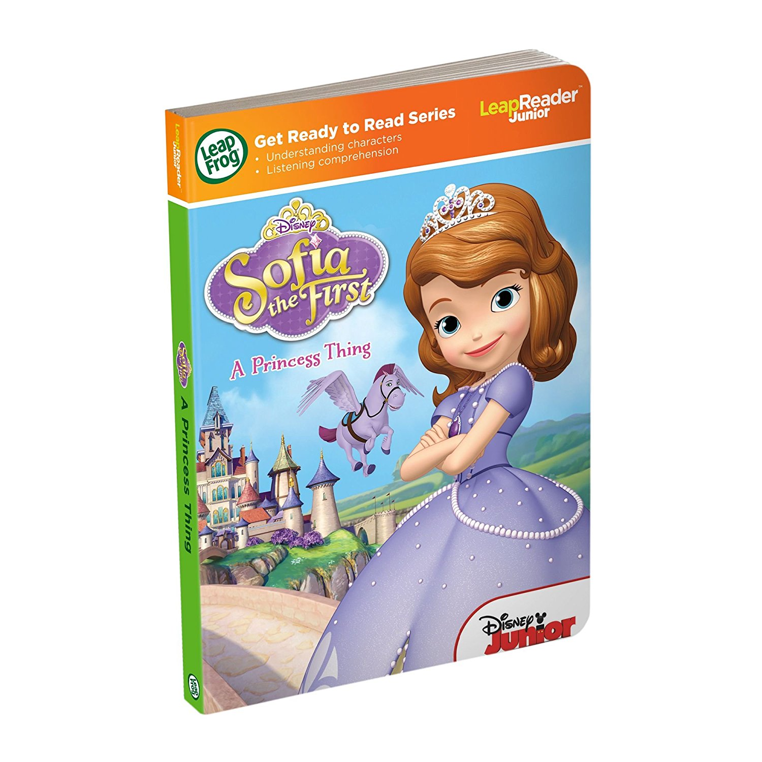 LeapReader Junior Book: Disney Sofia the First: A Princess ThingNOTE: LeapReader Junior... by