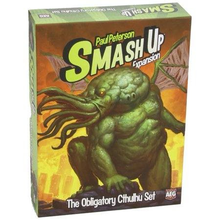 Smash Up The Obligatory Cthulhu Expansion Game, Smash Up: The Obligatory Cthulhu Set also contains 8 new Base cards to compete over By Alderac Entertainment Group](Halloween Pumpkin Smash Game)