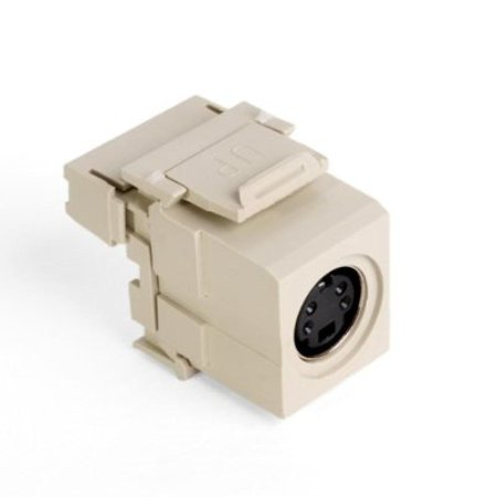 leviton 020-40734-svi s-video connector