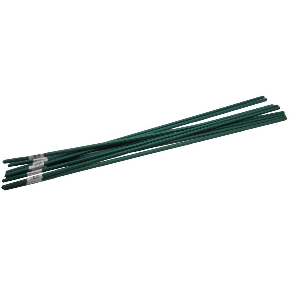 allfenz 7' Polyethylene Coated Garden Stakes (10-Pack) by RTI Corp