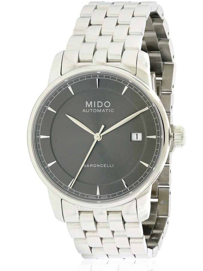 Mido Baroncelli Stainless Steel Automatic Men's Watch, M8600.4.13.1