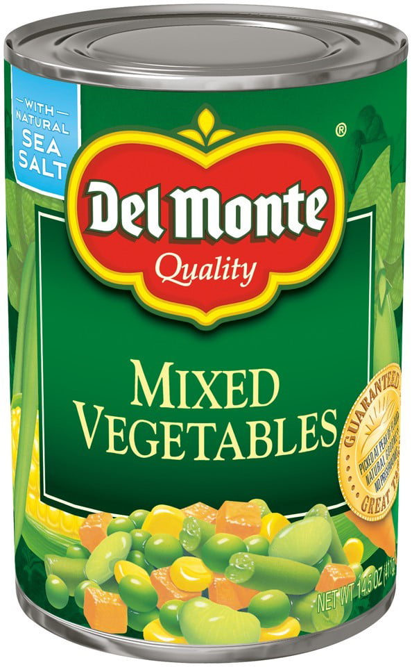 Del Monte Mixed Vegetables, 14.5 Oz by Del Monte Foods Inc