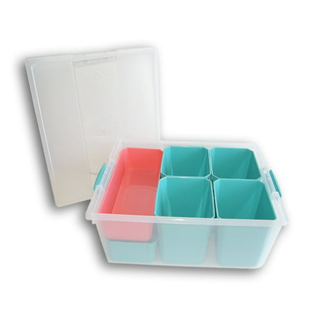 Store N More Plastic Storage Containers, 10 Piece](Arts And Craft Store)