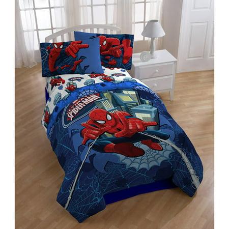 Marvel Spiderman Comforter Set 1 Each Walmart Com