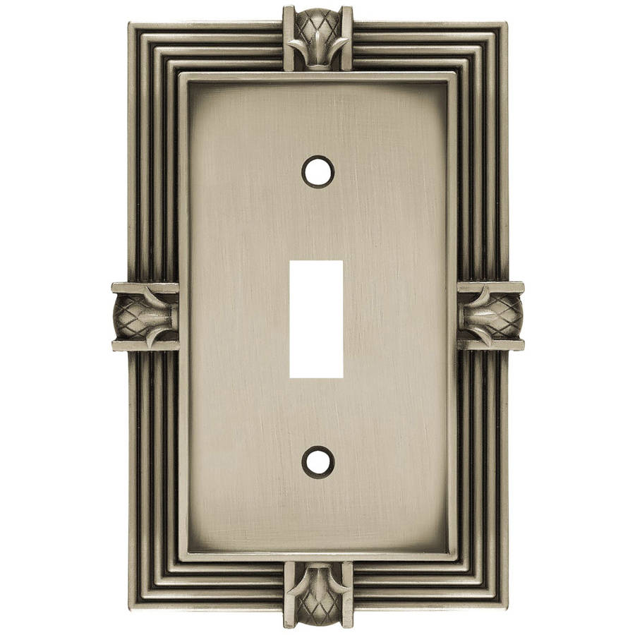 Brainerd Pineapple Single Switch Wall Plate, Available in Multiple Colors by Generic