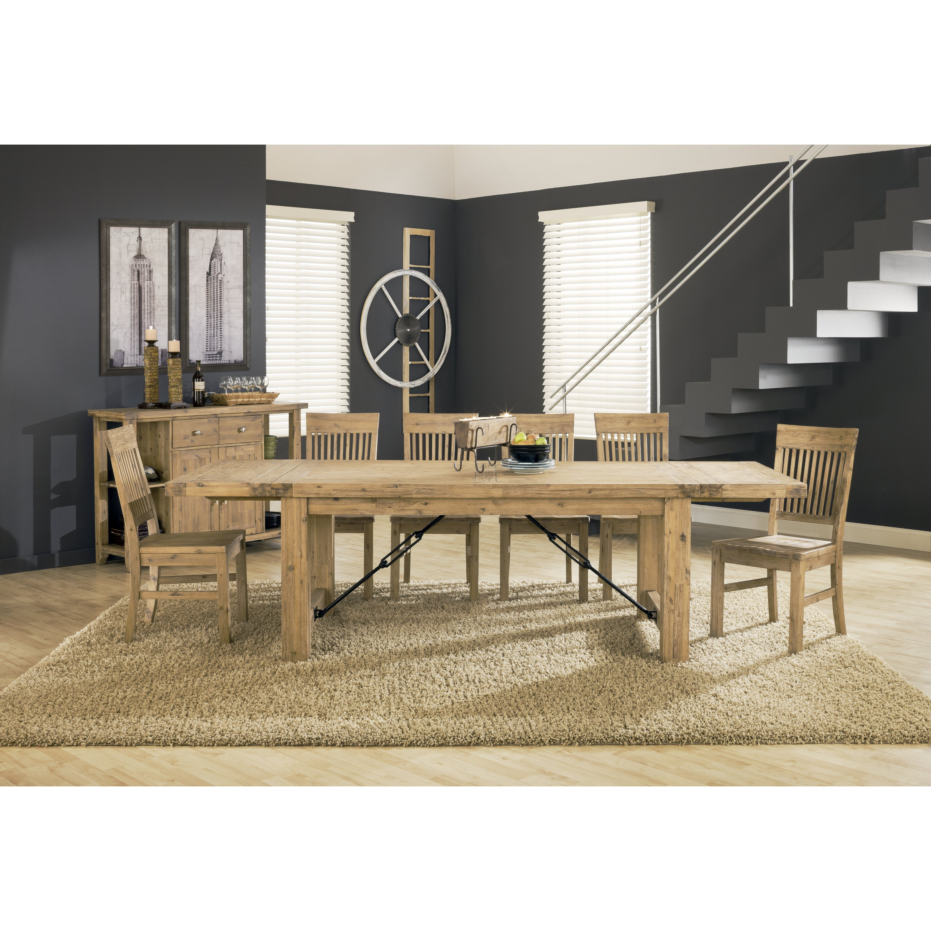 Modus Autumn 11 Piece Dining Table Set   Walmart.com