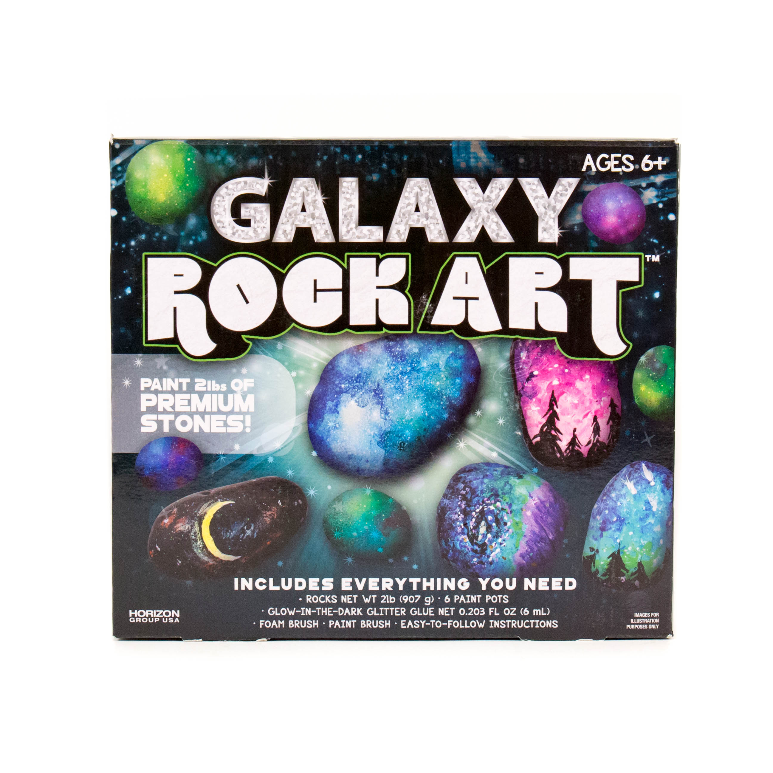 Galaxy Rock Art by Horizon Group USA by Horizon Group USA Inc