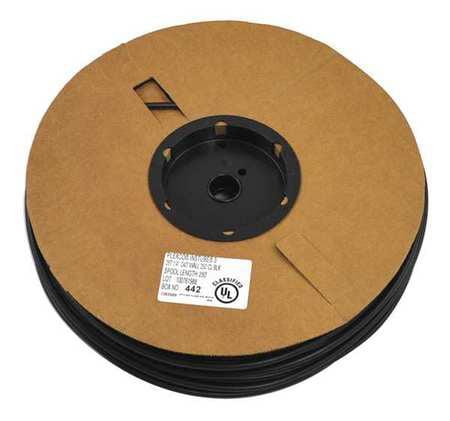 CHEVRON 1063589 Black Tubing, 250 ft. Roll, 1/4 in. G0116125
