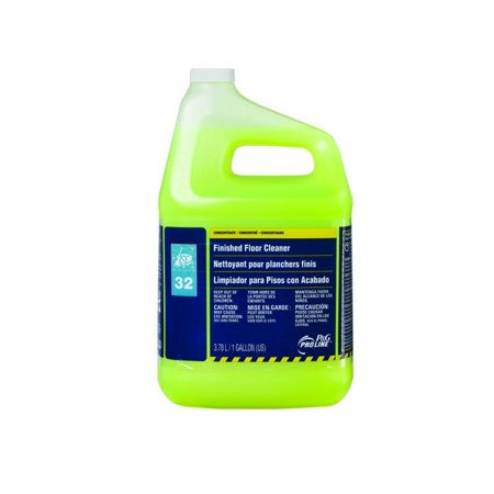 Finished Floor Cleaner - Proctor & Gamble Pro Line 32 Finished Floor Cleaner Gallons, 4 Per Case