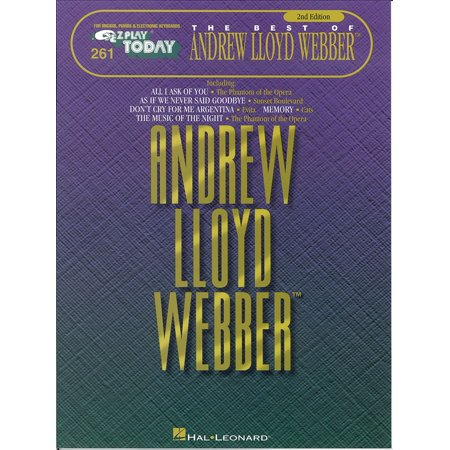 The Best of Andrew Lloyd Webber (Songbook) -