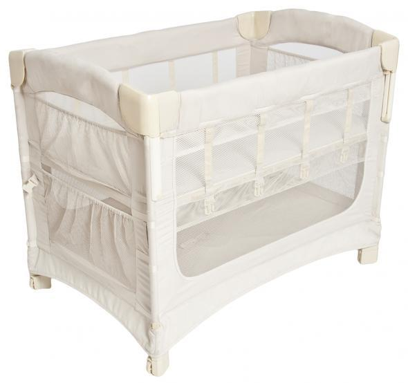 Arms Reach Concepts Ideal 3 in 1 Co-Sleeper Bassinet Grey