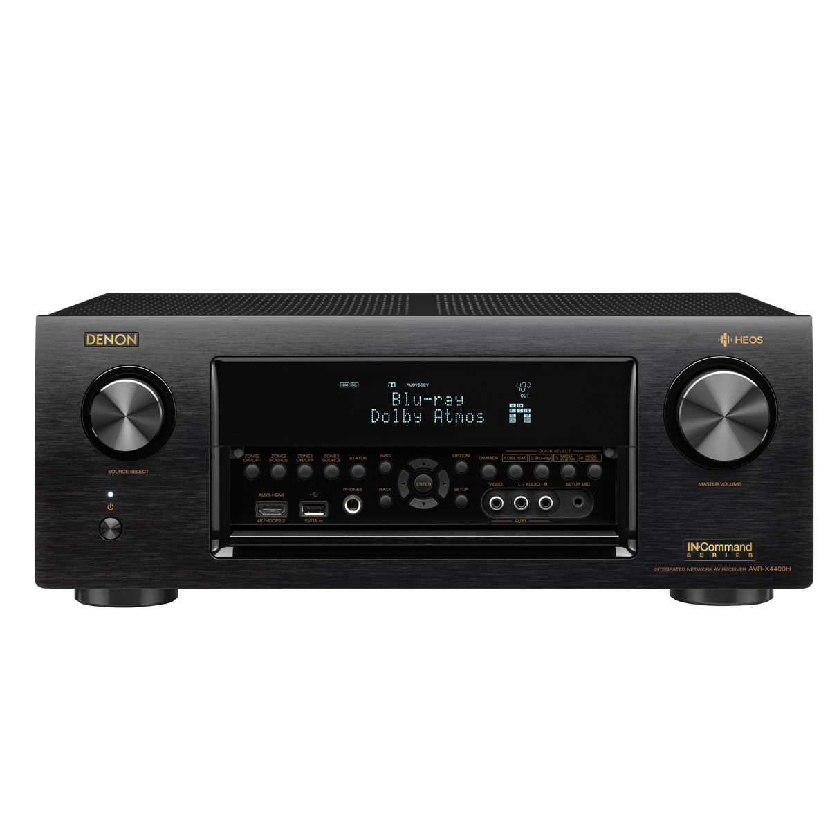 Denon AVR-X4400H 9.2 Channel Full 4K Ultra HD Network AV Receiver with HEOS by Denon