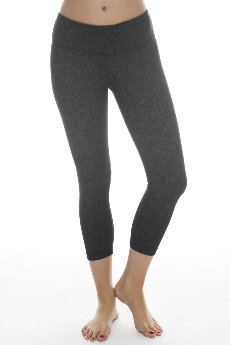90 Degree By Reflex - Power Flex Tummy Control Classic Yoga Capri
