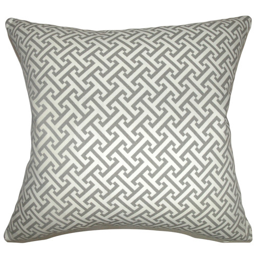 The Pillow Collection Quentin Geometric Cotton Throw Pillow Cover