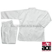 Middleweight 7 oz Student Karate Uniform, White size 8