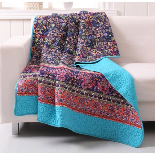 Greenland Home Fashions Gala Cotton Throw