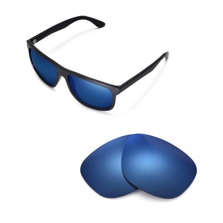 0d65c3c1c6 Walleva - Walleva Ice Blue Polarized Replacement Lenses for Ray-Ban RB4147  60mm Sunglasses - Walmart.com