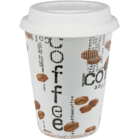 Konitz Travel Coffee Collage Mug (Set of 2)