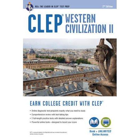 CLEP(R) Western Civilization II Book + Online (Clep Western)