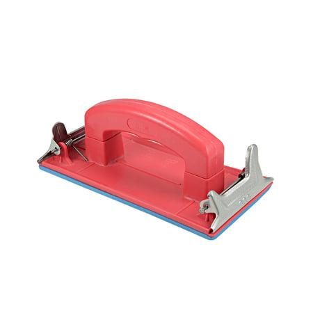 Hand Sander with Handle Hand Sanding Block Sandpaper Holder for Wood, Drywall, (Sander Sanding Block)