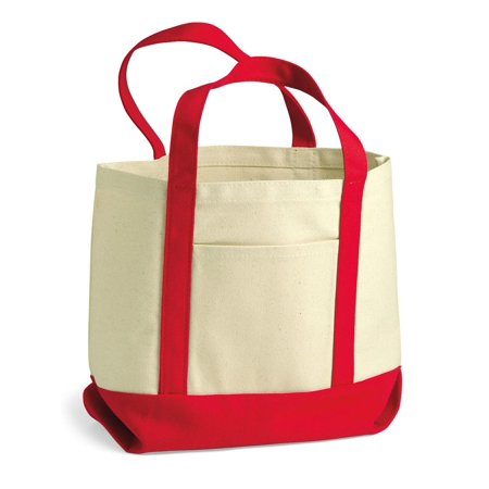 Small Canvas Tote (Liberty Bags Bags 11 Ounce Small Cotton Canvas Boater)
