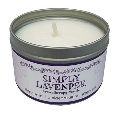 Soy Wax Votive - Our Own Candle Company Soy Wax Aromatherapy Scented Candle, Simply Lavender, 6.5 Ounce