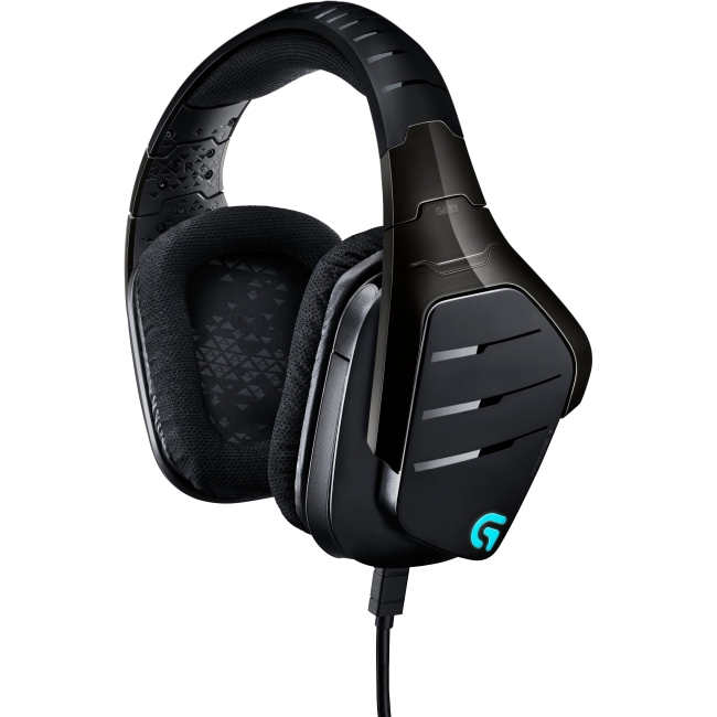 Logitech Artemis Spectrum RGB 7.1 Surround Gaming Headset 981-000586