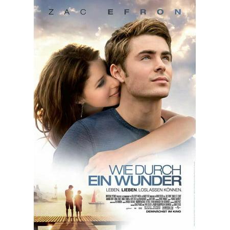 Charlie St  Cloud  2010  11X17 Movie Poster  German