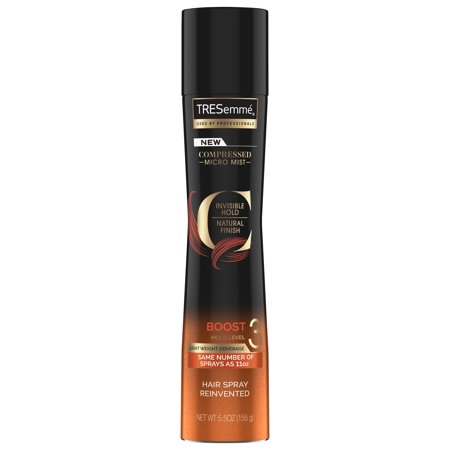 TRESemme Compressed Micro Mist Hair Spray Boost Hold Level 3 5.5 oz