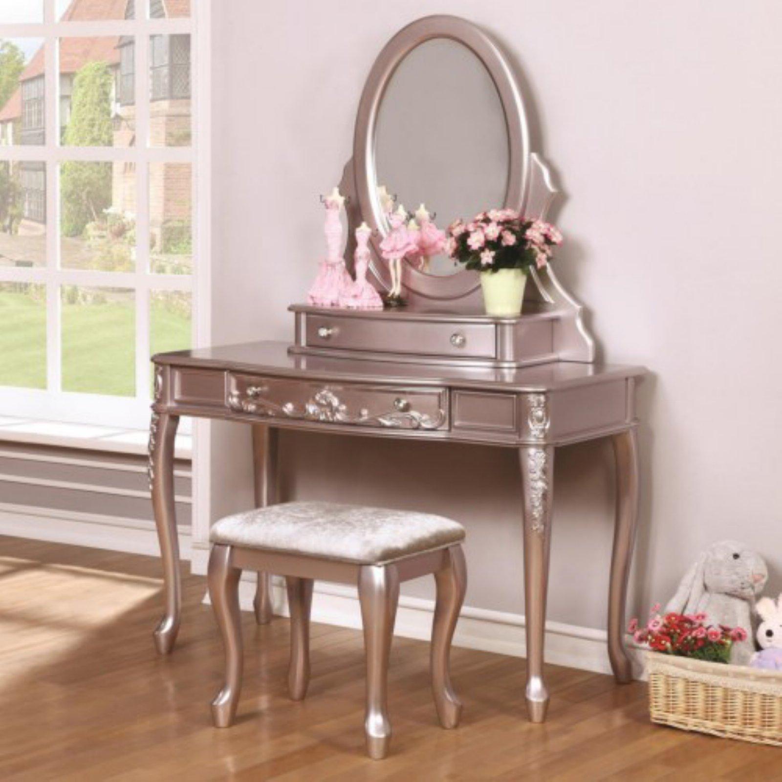 Coaster Company Caroline Vanity Mirror, Metallic Lilac (Mirror Only) by Coaster Company
