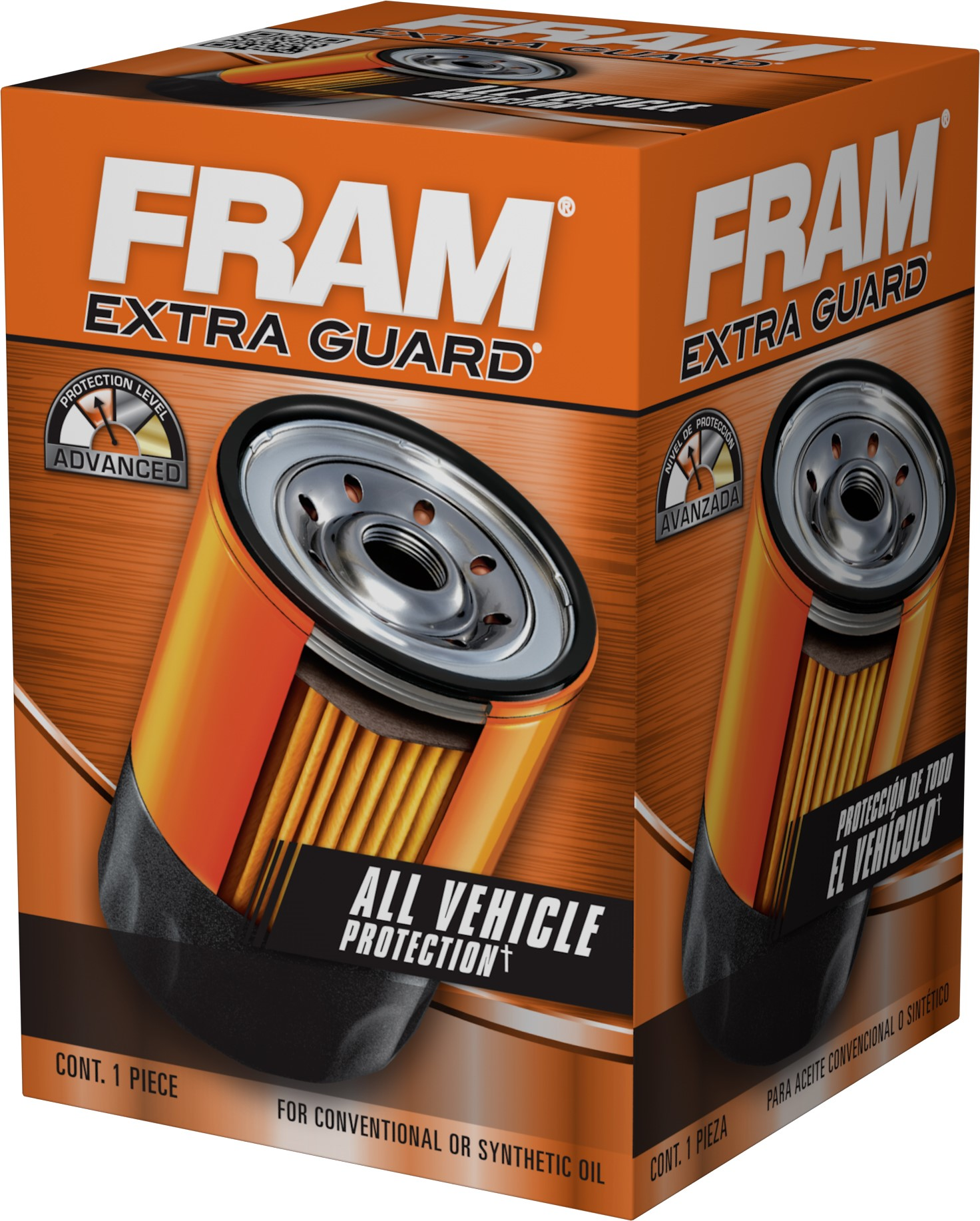 Fram Extra Guard Oil Filter Ph