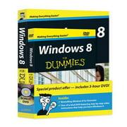 Windows 8 for Dummies + DVD