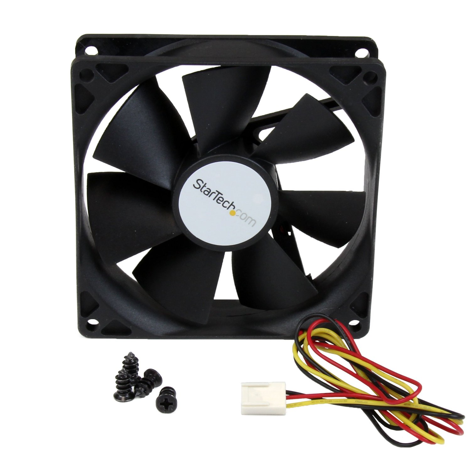 Startech FAN9X25TX3H 9X2.5Cm Tx3 Hi Flow Computer Pc Case Fan