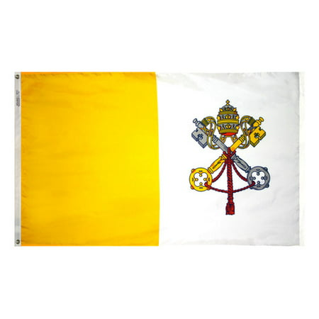 Annin Flagmakers Papal Vatican Traditional Flag