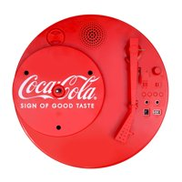 Deals on Coca-Cola CCT01 Retro Turntable with Bluetooth Speaker