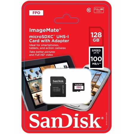 SanDisk 128GB Ultra® PLUS microSDXC™ UHS-I Card - SDSQUSC-128G-ANCIA