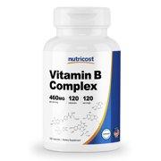 Best B Complex High Potencies - Nutricost High Potency Vitamin B Complex 460mg, 240 Review