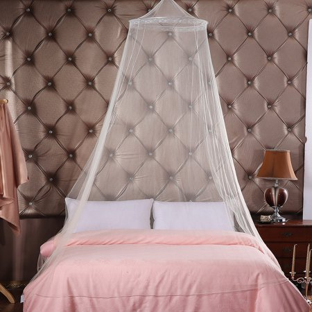 Mosquito Net Dome Netting Curtains Repellent Tent Insect Reject Bed Curtain Elegant Canopy Mosquito Net - image 2 of 7