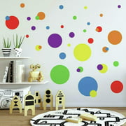 RoomMates Primary Colors Just Dots Peel & Stick Wall Decals