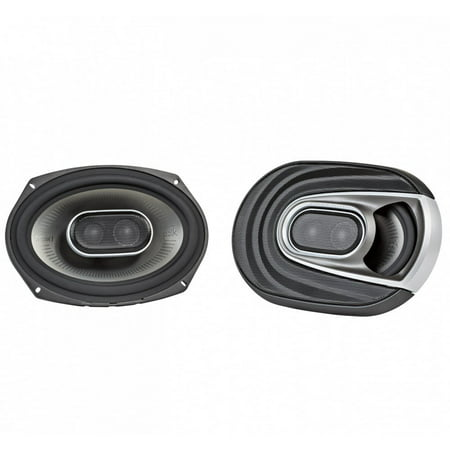 Polk Audio MM1 Series 6x9 Inch 450W Coaxial Marine Boat ATV Car Audio Speakers