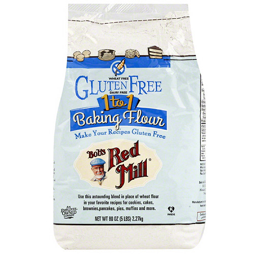 Bob's Red Mill, 1 to, 1 Gluten Free Baking Flour, 5 lbs, (pack of 4)