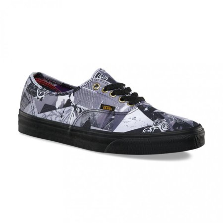 f000ccf114 Vans - Vans Authentic Abstract Multi Black Men s Classic Skate Shoes Size  13 - Walmart.com