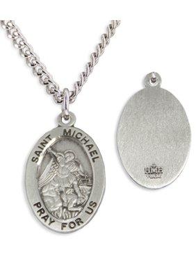 c87048eb5c195 Silver Men's Necklaces - Walmart.com