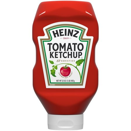 (2 Pack) Heinz Tomato Ketchup, 32 oz Bottle
