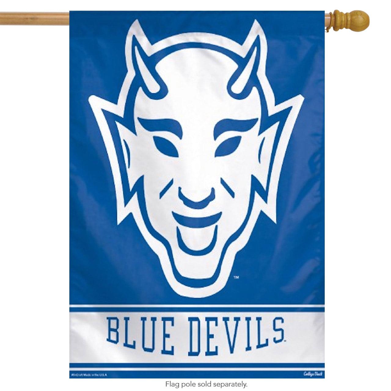 """duke university blue devils vertical flag ncaa licensed banner 27"""" x 37"""""""