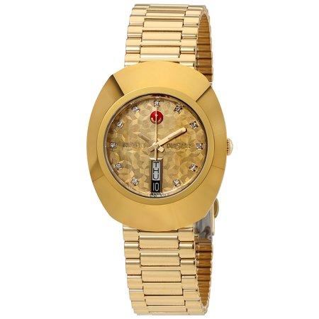 Rado Original L  Automatic Yellow Gold Dial Men